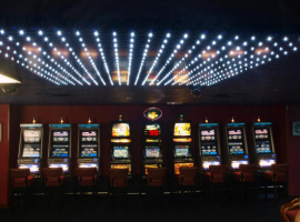 Gambling machines in casinos