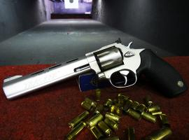 Try out shooting with Revolver!