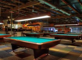 Modern and trendy billiard club in Zagreb