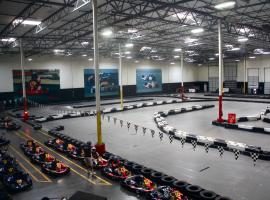 Supermodern facilities of Zagreb's go karting arena