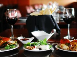 Appetizing dinner with the best wine sets you in the right mood for the night