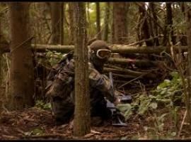 Croatian airsoft in forest