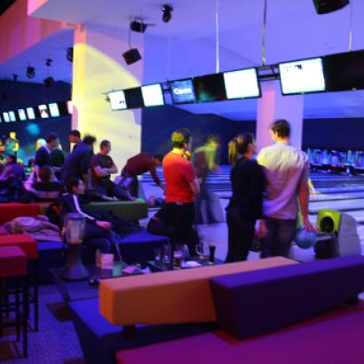 Trendy and very popular bowling club in Zagreb's city center