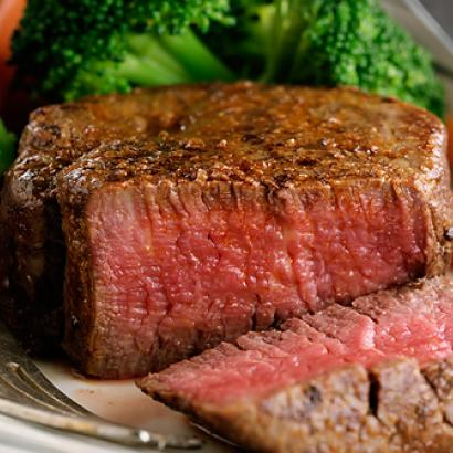 Juicy steak kicks off your night partying