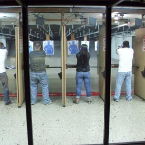 Indoor shooting range in Zagreb
