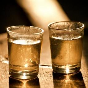 Rakija shots waiting for your stag group!