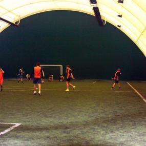 Stag do indoor football match in Zagreb
