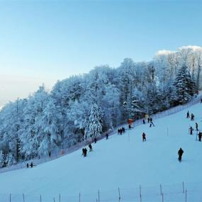 The Ski Slope near Zagreb